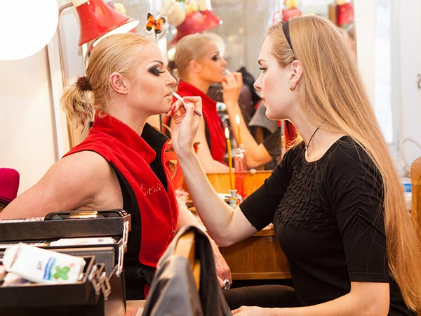 Elena Kovalenko Backstage